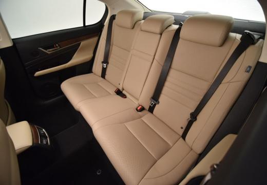 LEXUS GS V sedan szary ciemny wnętrze