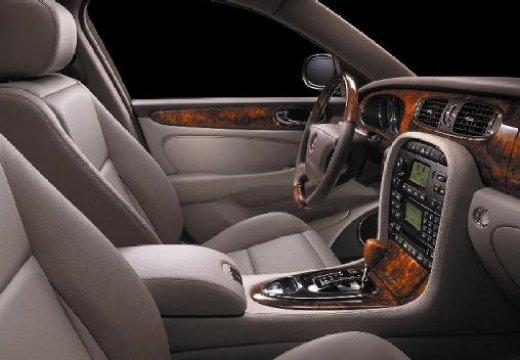 JAGUAR XJ IV sedan silver grey wnętrze