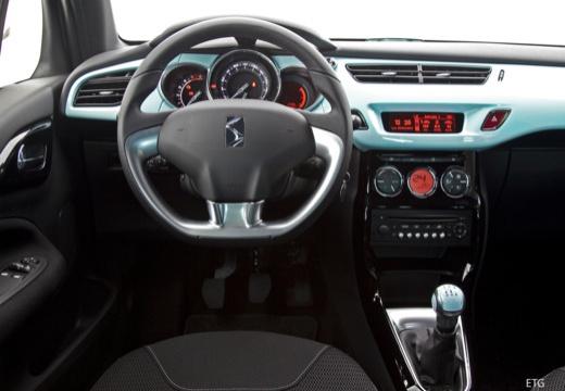 CITROEN DS3 II hatchback szary ciemny tablica rozdzielcza