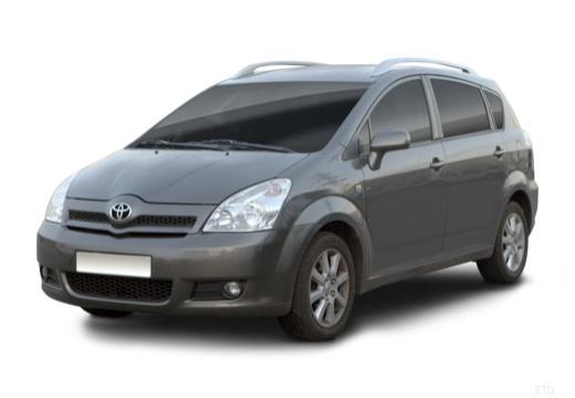 Toyota Corolla Verso II kombi mpv przedni lewy