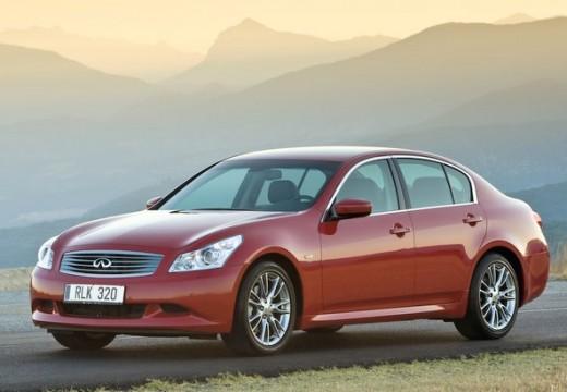 INFINITI G35 sedan czerwony jasny przedni lewy