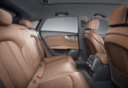 AUDI A7 Sportback I hatchback wnętrze