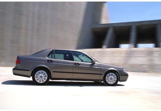 SAAB 9-5 II sedan brązowy boczny prawy
