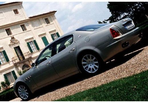 MASERATI Quattroporte II sedan silver grey tylny lewy