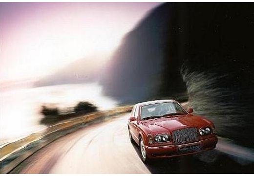 BENTLEY Arnage sedan czerwony jasny przedni prawy