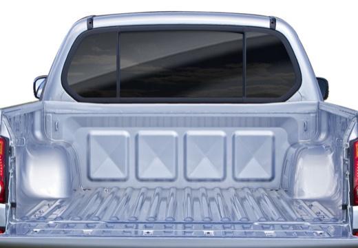 MITSUBISHI L 200 II pickup niebieski jasny przestrzeń załadunkowa
