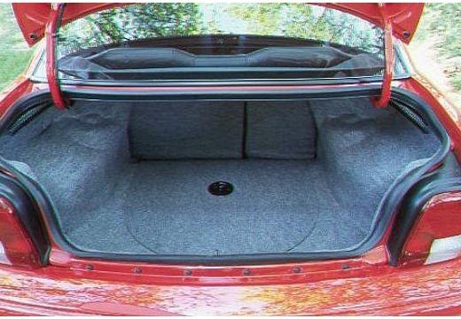 DODGE Neon I sedan czerwony jasny przestrzeń załadunkowa