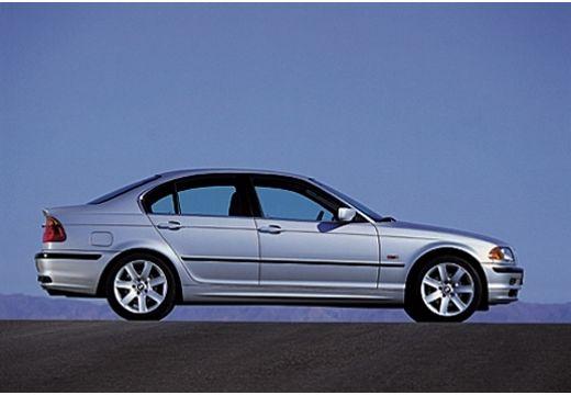 BMW Seria 3 sedan silver grey boczny prawy