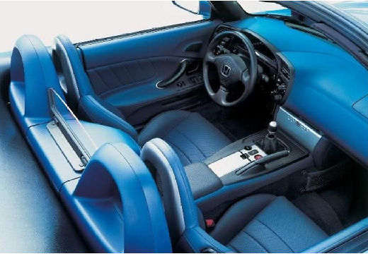 HONDA S 2000 I roadster niebieski jasny tablica rozdzielcza