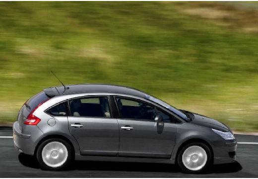 CITROEN C4 I hatchback szary ciemny tylny prawy