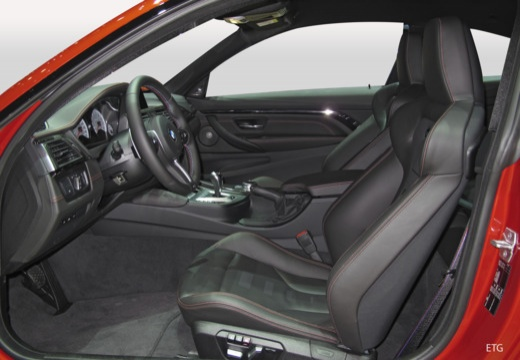 BMW Seria 4 F32/F82 20 coupe wnętrze