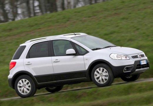 FIAT Sedici II kombi biały przedni prawy
