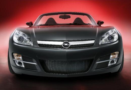 OPEL GT roadster czarny przedni
