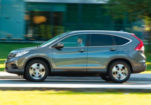 HONDA CR-V kombi silver grey boczny lewy