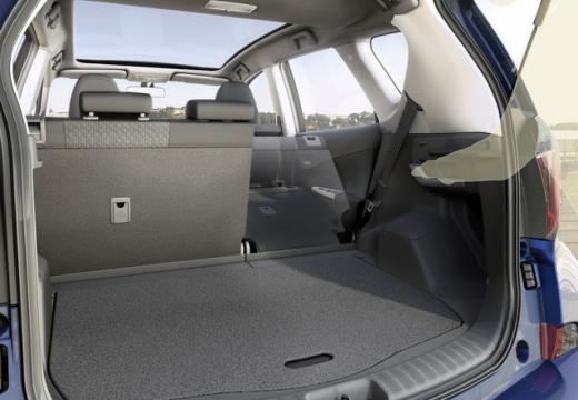 Toyota Verso-S hatchback przestrzeń załadunkowa