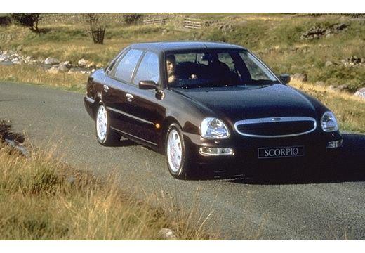 FORD Scorpio sedan bordeaux (czerwony ciemny) przedni prawy