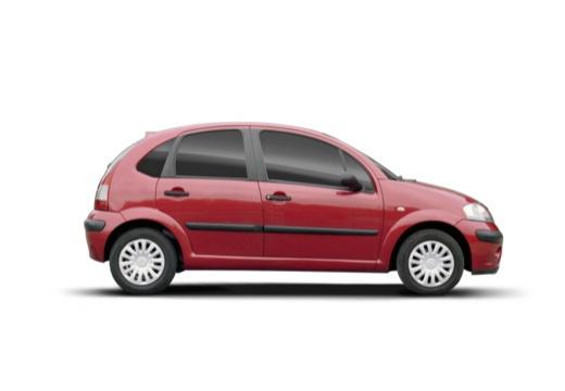 CITROEN C3 II hatchback czerwony jasny boczny prawy