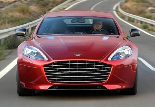 ASTON MARTIN Rapide coupe czerwony jasny przedni
