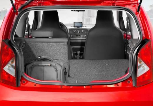 SEAT Mii hatchback przestrzeń załadunkowa