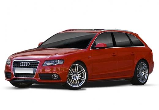 AUDI A4 Avant B8 I kombi czerwony jasny