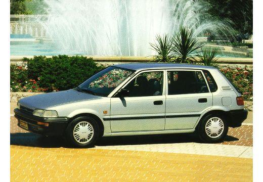 Toyota Corolla Liftback II hatchback silver grey przedni lewy