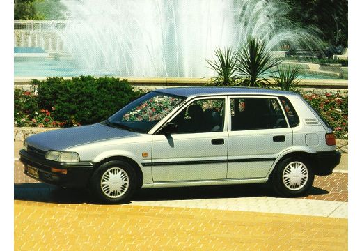 Toyota Corolla II hatchback silver grey przedni lewy