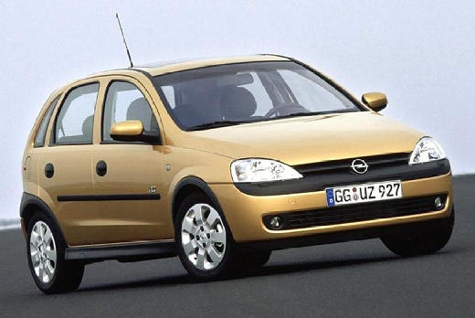 OPEL Corsa C I hatchback złoty przedni prawy