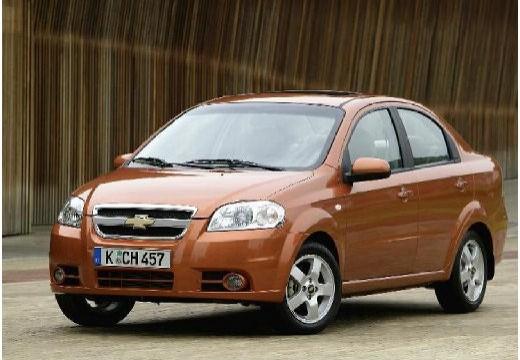 CHEVROLET Aveo II sedan pomarańczowy