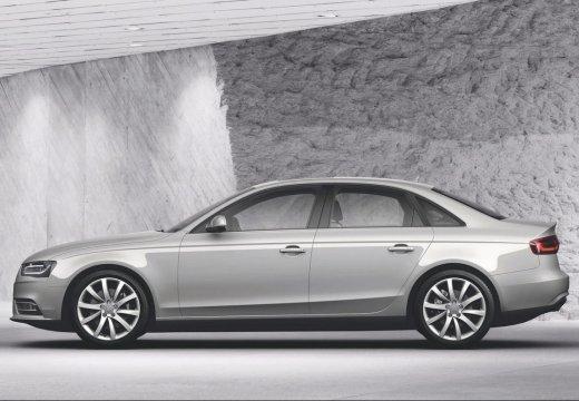 AUDI A4 B8 II sedan silver grey boczny lewy