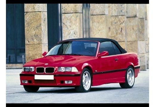 BMW Seria 3 Cabriolet E36 kabriolet czerwony jasny przedni lewy