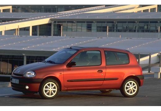 RENAULT Clio II I hatchback czerwony jasny przedni lewy