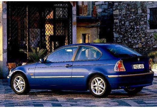 BMW Seria 3 Compact E46/5 hatchback niebieski jasny tylny lewy