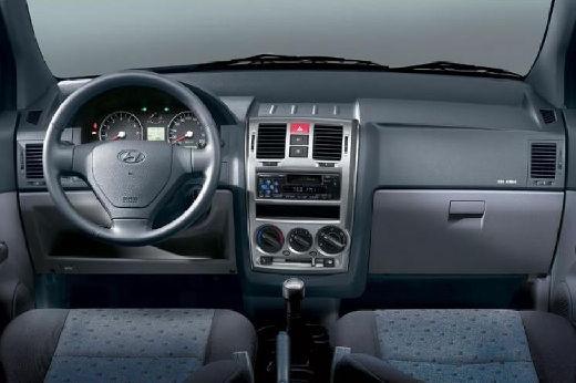 HYUNDAI Getz hatchback silver grey tablica rozdzielcza