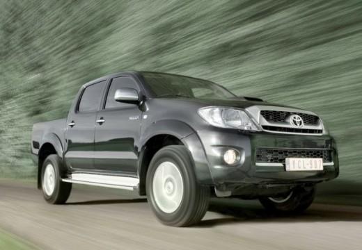 Toyota HiLux IV pickup szary ciemny przedni prawy