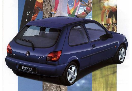 FORD Fiesta III hatchback tylny prawy