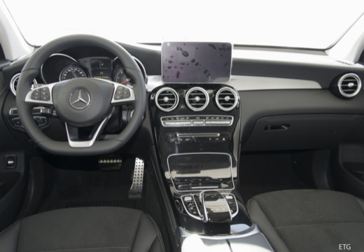 MERCEDES-BENZ Klasa GLC GLC Coupe C 253 I hatchback tablica rozdzielcza