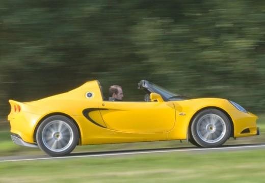 LOTUS Elise kabriolet żółty boczny prawy