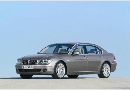 BMW Seria 7 E65 E66 II sedan silver grey przedni lewy