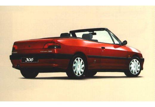 PEUGEOT 306 Cabrio I kabriolet tylny prawy