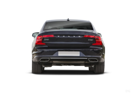 VOLVO S90 I sedan czarny tylny