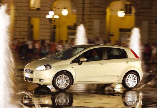 FIAT Punto Grande hatchback beige przedni lewy