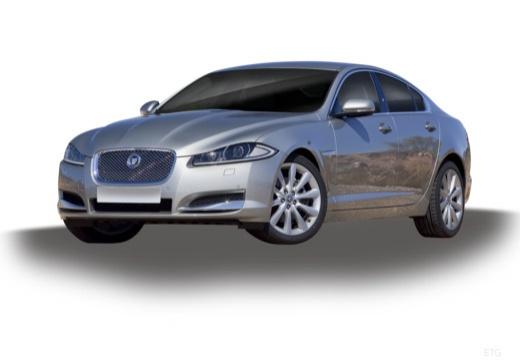 JAGUAR XF II sedan silver grey przedni lewy