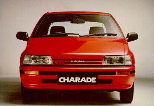 DAIHATSU Charade sedan czerwony jasny przedni