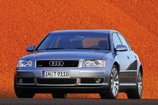 AUDI A8 4E I sedan silver grey przedni lewy