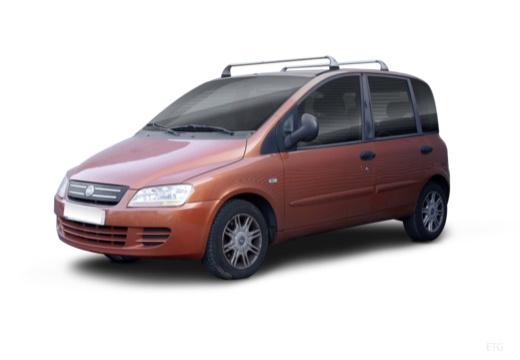 FIAT Multipla II kombi pomarańczowy przedni lewy
