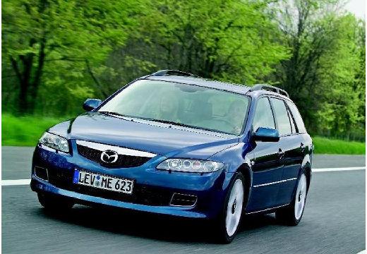 MAZDA 6 2.3 i aut Kombi Sport II 160KM (benzyna)