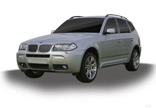 BMW X3 X 3 E83 II kombi silver grey