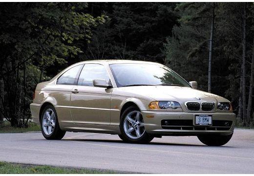 BMW Seria 3 E46 coupe złoty przedni prawy