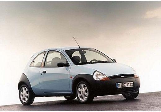 FORD Ka I hatchback niebieski jasny przedni prawy