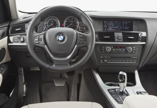 BMW X3 X 3 F25 I kombi niebieski jasny tablica rozdzielcza